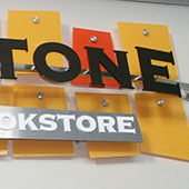 Northview Church: Capstone Bookstore & Cafe Sign